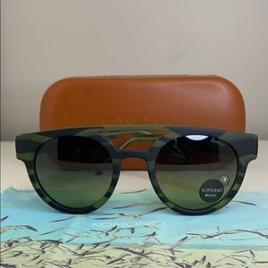 Komono New Sunglasses Dreyfuss Green Safari